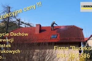 Mycie Dachów Elewacji Kostki Brukowej itp...
