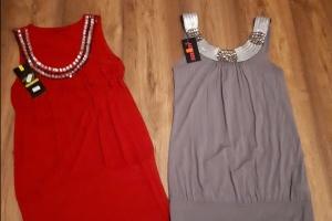 Nowe sukienki/tuniki.