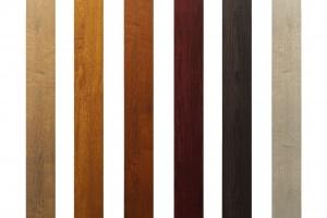 Sztacheta Aluminiowa Profil 100x25 drewnopodobny